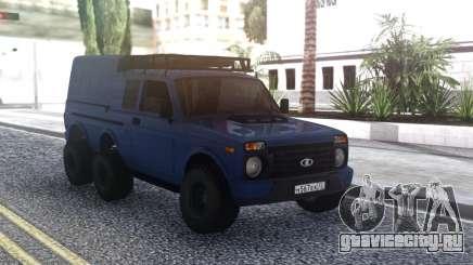 Niva Urban 6x6 для GTA San Andreas
