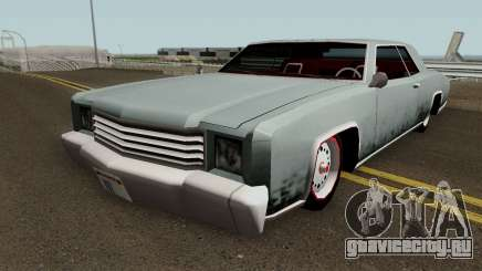 Retextured HD Albany Buccaneer v1.0 для GTA San Andreas