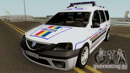 Dacia Logan MCV - Politia Romana 2004 для GTA San Andreas