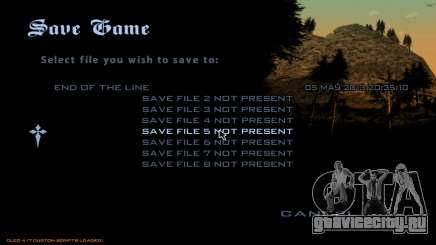 Fast Save для GTA San Andreas