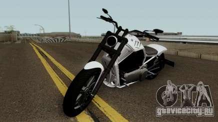 Western Motorcycle Nightblade GTA V для GTA San Andreas