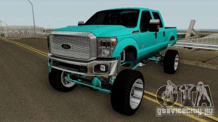 Ford F-250 Cencal Truck для GTA San Andreas