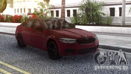BMW M5 F90 Original для GTA San Andreas