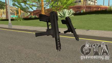 Tec9 HQ (With HD Original Icon) для GTA San Andreas