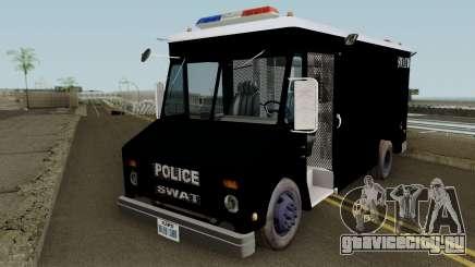 Chevrolet Step Van S.W.A.T. для GTA San Andreas