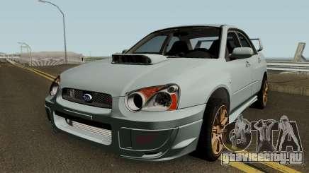 Subaru Impreza STI 2008 для GTA San Andreas