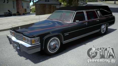 Cadillac Fleetwood Hearse 1978 для GTA 4
