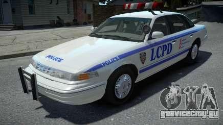 Ford Crown Victoria LCPD 1995 для GTA 4