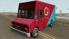 Brute Boxville GTA V для GTA San Andreas