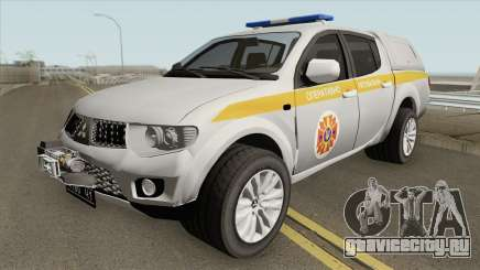 Mitsubishi L200 МЧС Украины для GTA San Andreas