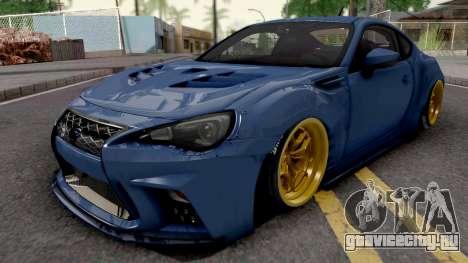 Subaru BRZ 2014 Aimgain Custom для GTA San Andreas