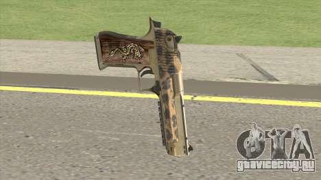 Desert Eagle 50ae (De Leopard) 2019 для GTA San Andreas