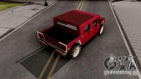Patriot from GTA VCS для GTA San Andreas