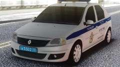 Renault Logan ГУ МВД для GTA San Andreas