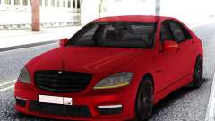 Mercedes-Benz S65 AMG Red для GTA San Andreas