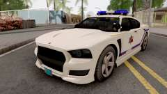 Bravado Buffalo 2013 Hometown PD Style для GTA San Andreas