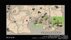 RDR2 Map Styled для GTA San Andreas