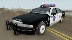 Chevrolet Caprice 1991 Police для GTA San Andreas