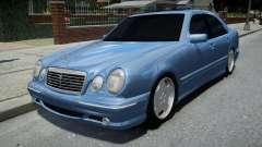 Mercedes-Benz E55 AMG Blue для GTA 4