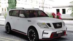 Nissan Patrol Nismo White Edition для GTA San Andreas
