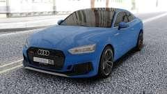 Audi RS5 Blue для GTA San Andreas