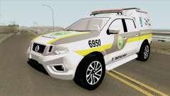 Nissan Frontier 2017 (Policia Militar) для GTA San Andreas