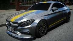 Mercedes-Benz C63 S AMG для GTA 4