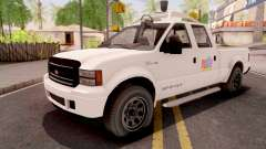 GTA V Vapid Sadler Nudle Self-Driving Car для GTA San Andreas
