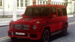Mercedes-Benz G65 Red AMG для GTA San Andreas