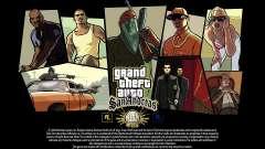 ГТА СА экраны загрузки - 15-летний юбилей для GTA San Andreas