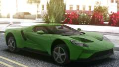 Ford GT 2017 Green для GTA San Andreas