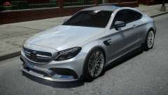 Mercedes-Benz C63 Brabus ENB Version для GTA 4