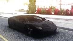 Lamborghini Aventador Black LP700-4 для GTA San Andreas
