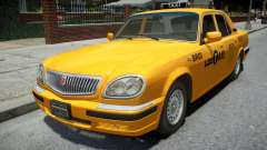 ГАЗ 31105 Волга 2004 LC Taxi для GTA 4