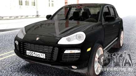 Porsche Black Cayenne для GTA San Andreas