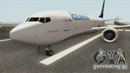 Boeing 737 MAX (Icelandair Livery) для GTA San Andreas