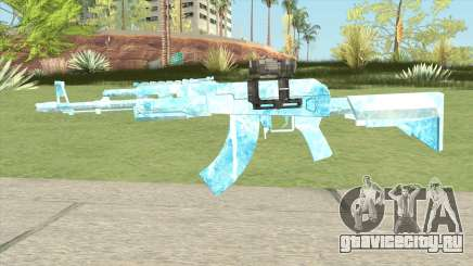 AK47 Glacier (Original Scope) для GTA San Andreas