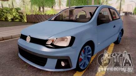 Volkswagen Gol Trend Blue для GTA San Andreas