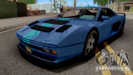 GTA V Grotti Cheetah Classic Coupe IVF для GTA San Andreas