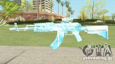 AK47 Glacier (Ice Scope) для GTA San Andreas