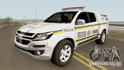 Chevrolet S10 2017 (Brigada Militar RS) для GTA San Andreas