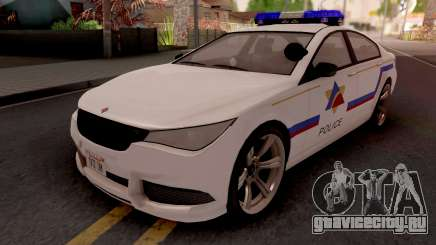 Ubermacht Oracle 2014 Hometown PD Style для GTA San Andreas