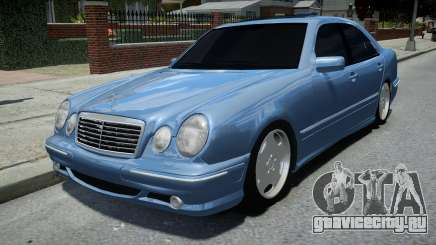 Mercedes-Benz E55 AMG Blue для GTA 4