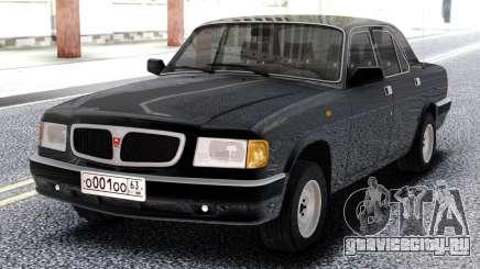 ГАЗ 3110 Черная Волга для GTA San Andreas