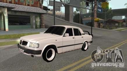 Волга 3110 BlackWhite для GTA San Andreas