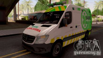 Mercedes-Benz Sprinter Ambulancia Argentina для GTA San Andreas