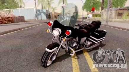 VCPD WinterGreen from GTA VCS для GTA San Andreas