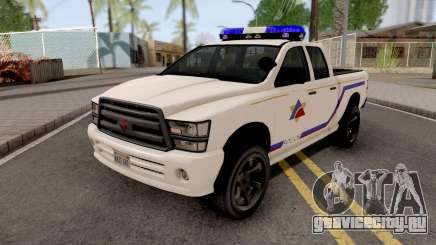 Bravado Bison 2013 Hometown PD Style для GTA San Andreas