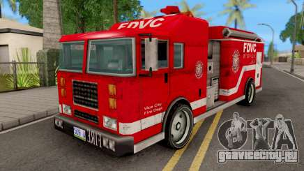 Firetruck from GTA VCS для GTA San Andreas