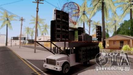 GTA V Vapid Festival Bus для GTA San Andreas